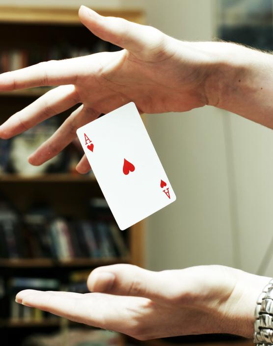 Kartentick üben