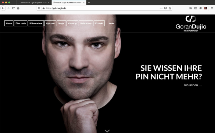 Website Goran